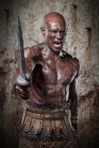 "As Oenomaus in ""Spartacus"""