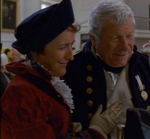 "As Mrs. Croft in ""Persuasion"""