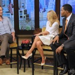Alexander Skarsgard, Kelly Ripa and Michael Strahan Photo Credit: Lorenzo Bevilaqua/Disney-ABC Domestic TV