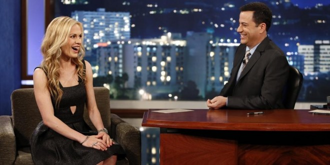 VIDEO: Anna Paquin on JIMMY KIMMEL LIVE + Pics