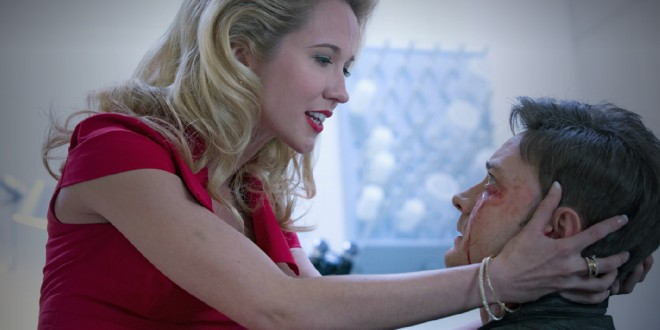 "Anna Camp's ""Craziest"" Scene Is In True Blood 6.08"