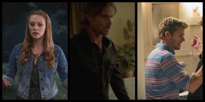 True Blood Fashion: Jessica's Dress + Necklace, Jason's Striped Shirt, Sam's Plaid Shirt