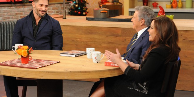 Joe Manganiello Demonstrates Feats of Strength on THE RACHAEL RAY SHOW