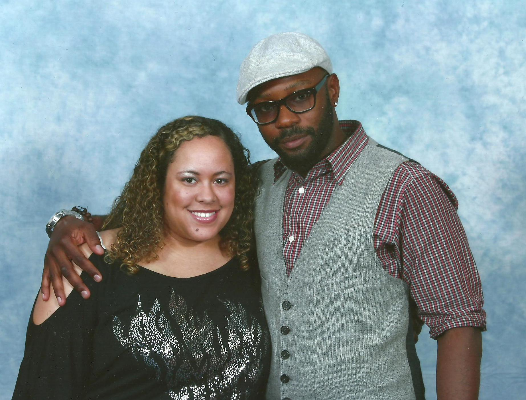 Lisa and Nelsan Ellis