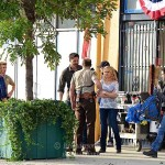 True Blood season 7 episode 2 set photos - Chris Bauer, Anna Paquin, Ryan Kwanten, Joe Manganiello, Sam Trammell