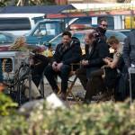 True Blood season 7 episode 2 set photos - Ryan Kwanten, Anna Paquin, Joe Manganiello, Chris Bauer
