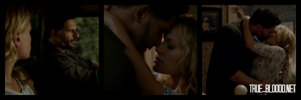 Sookie & Alcide sexy time True Blood season 7