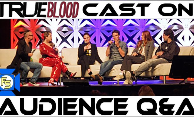 Anna Paquin Stephen Moyer Kristin Bauer Joe Manganiello at Keystone Comic Con
